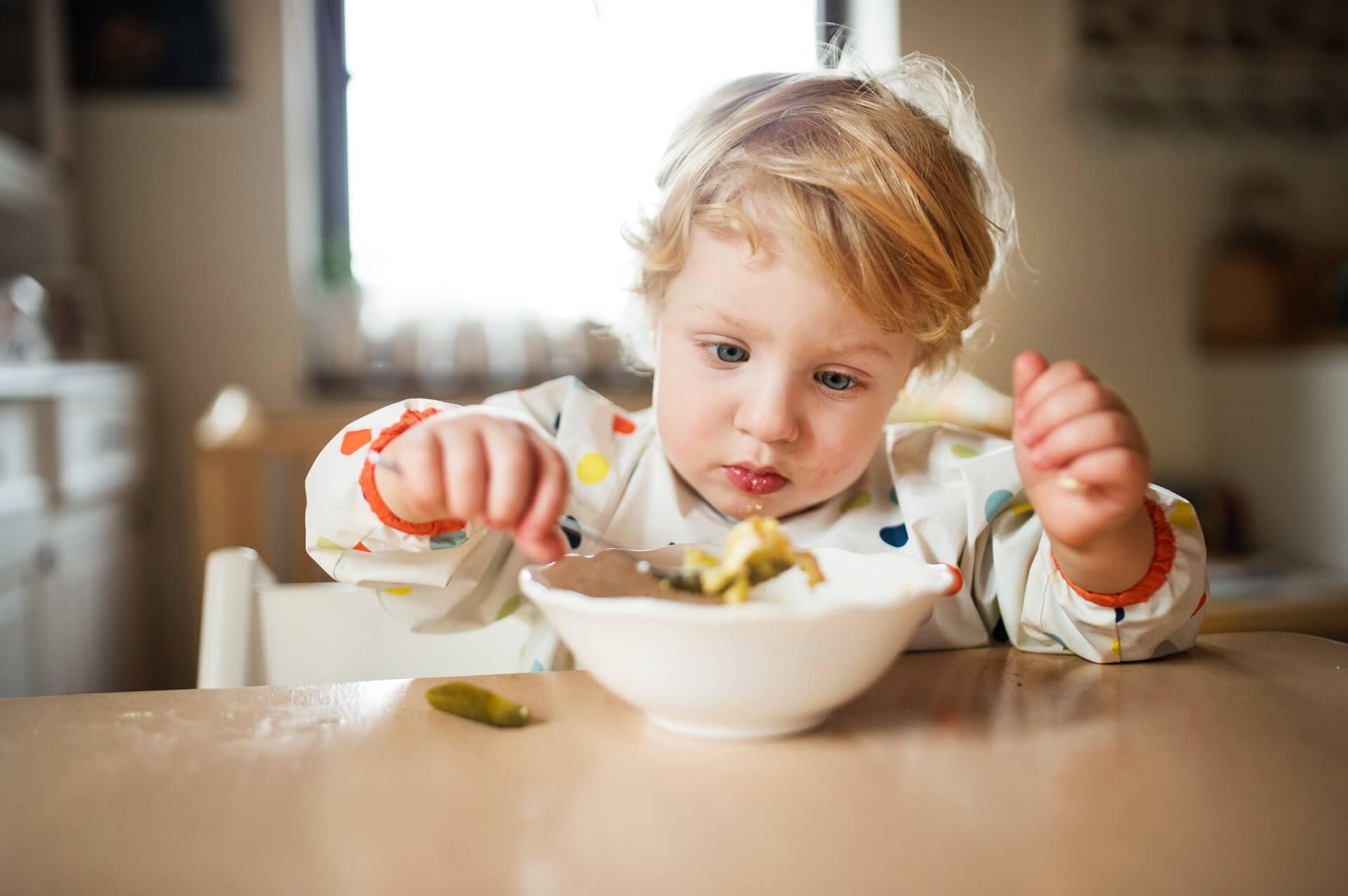 La alimentación de los niños
